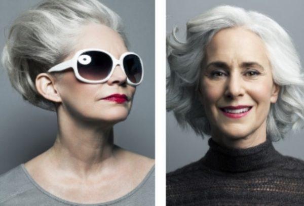 седые волосы после 60