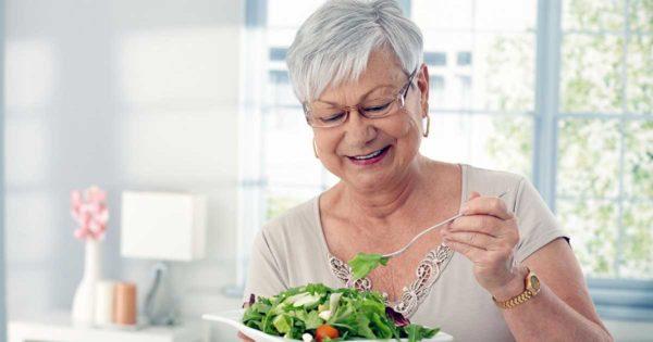 Сидеть на диетах после 60