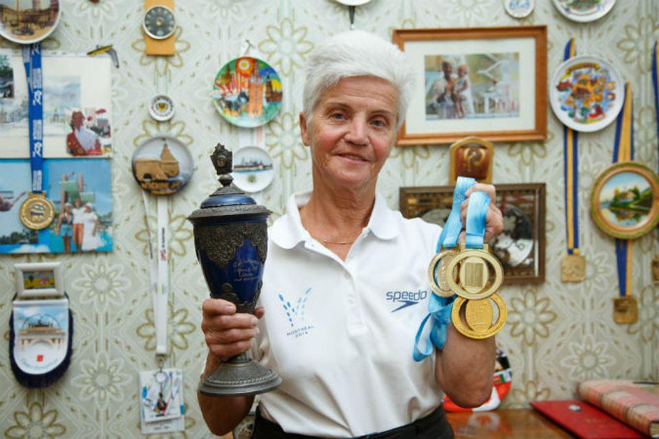 Евгения Степанова и её спортивные награды
