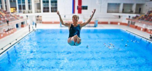Евгения Васильевна начала заниматься водными видами спорта в 60 лет