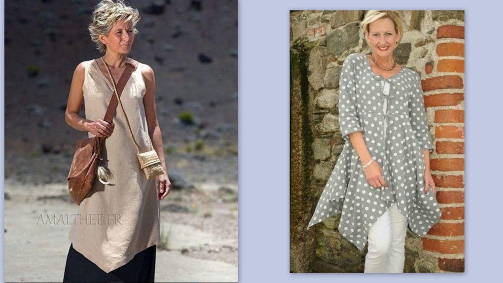 Во что одеваются женщины за 55