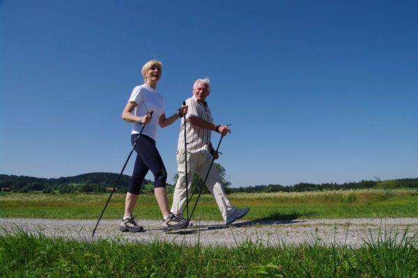 Скандинавская ходьба с палками техника ходьбы инструкция