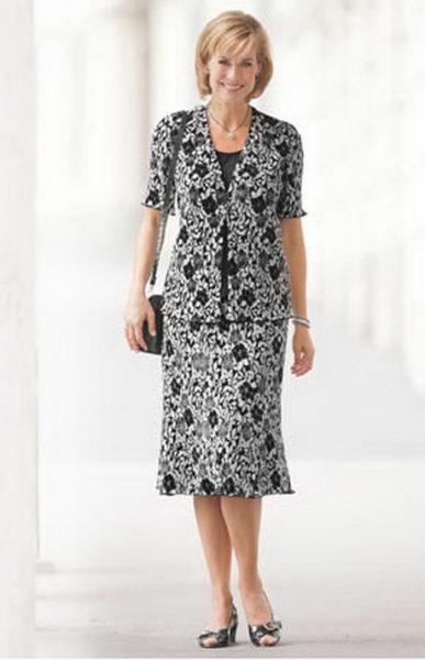 Фасоны платьев для женщин после 50 лет