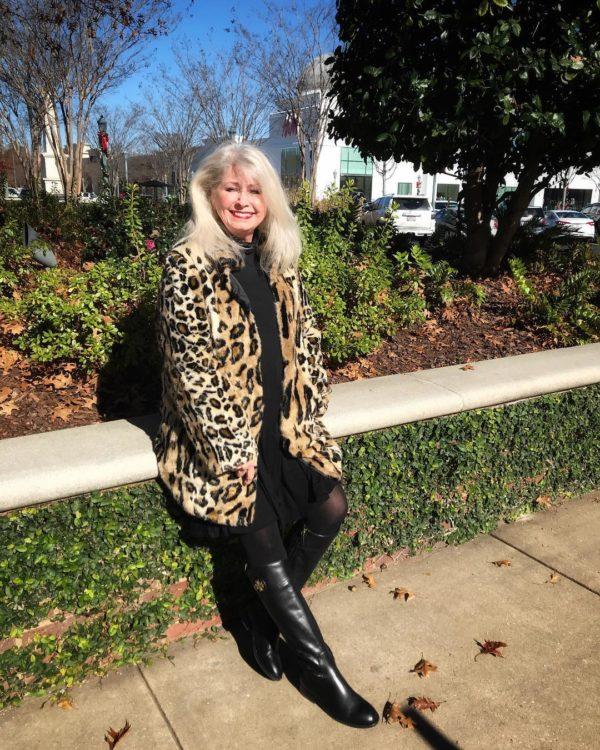 Леопардовый принт для женщин 50+
