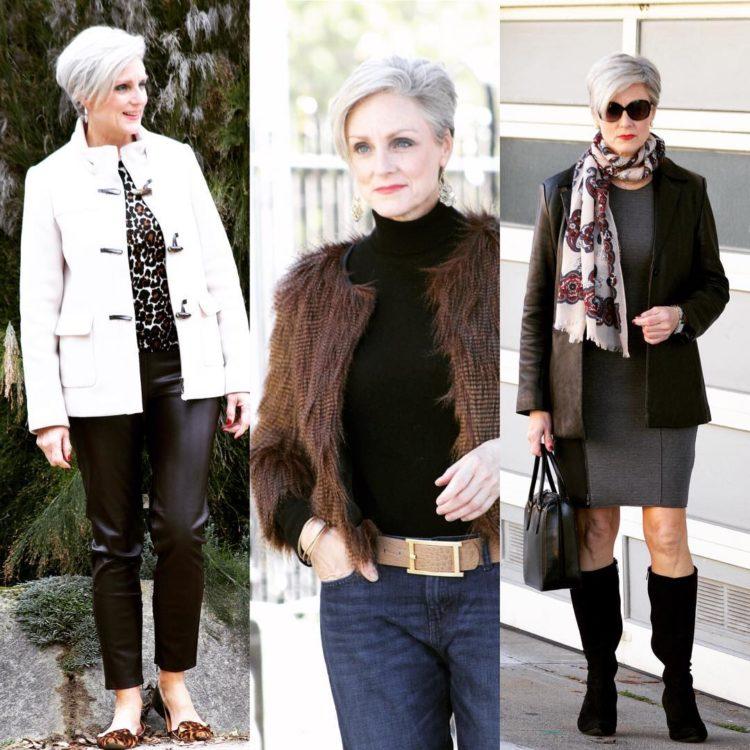 Что носить зимой 2018-2019, если Вам 60+