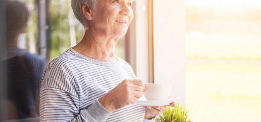 утро пожилого человека